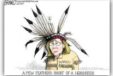 Fauxcohontas Strikes Again