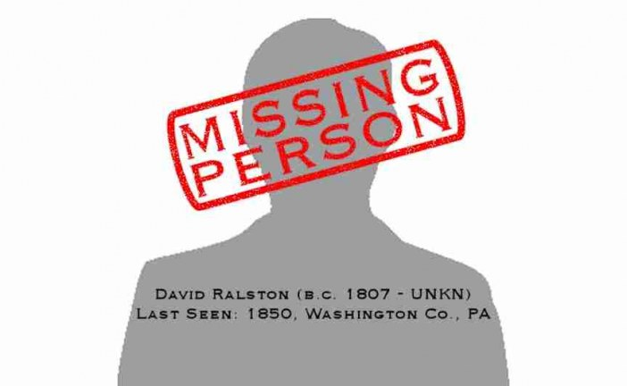 Missing Person: David Ralston