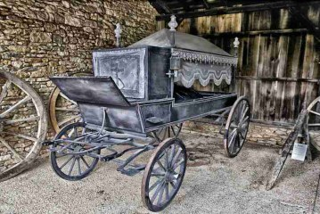 An Obscure Thought About Hearses