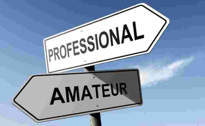 Professionals and Amateurs