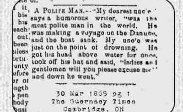 A Polite Man