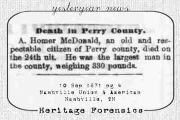 Death in Perry County