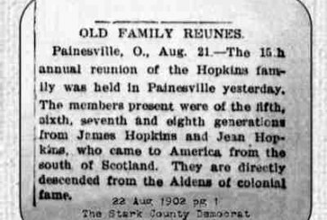 Old Family Reunes